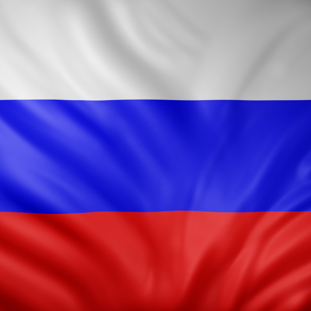 """""""Russian Federation 3d flag"""" stock image"""