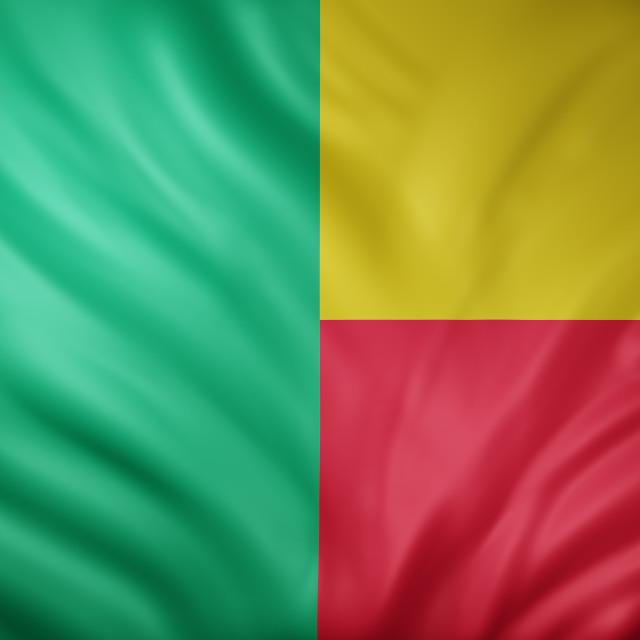 """""""Benin 3d flag"""" stock image"""