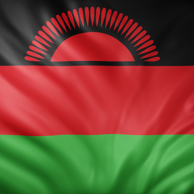 """Malawi 3d flag"" stock image"