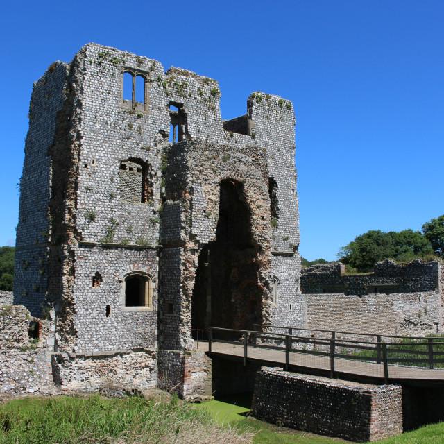 """Baconsthorpe Castle"" stock image"