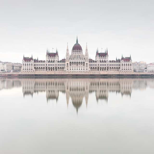 """Budapest Parliament building"" stock image"
