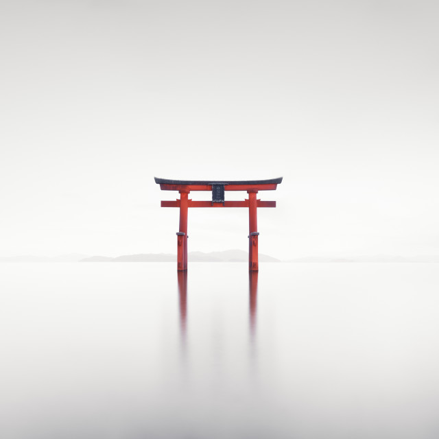 """Red Torii"" stock image"