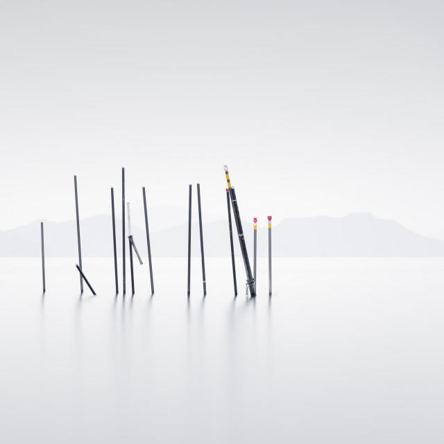 """Lake Biwa scene"" stock image"
