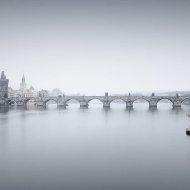"""Charlesbridge in Prague II"" stock image"