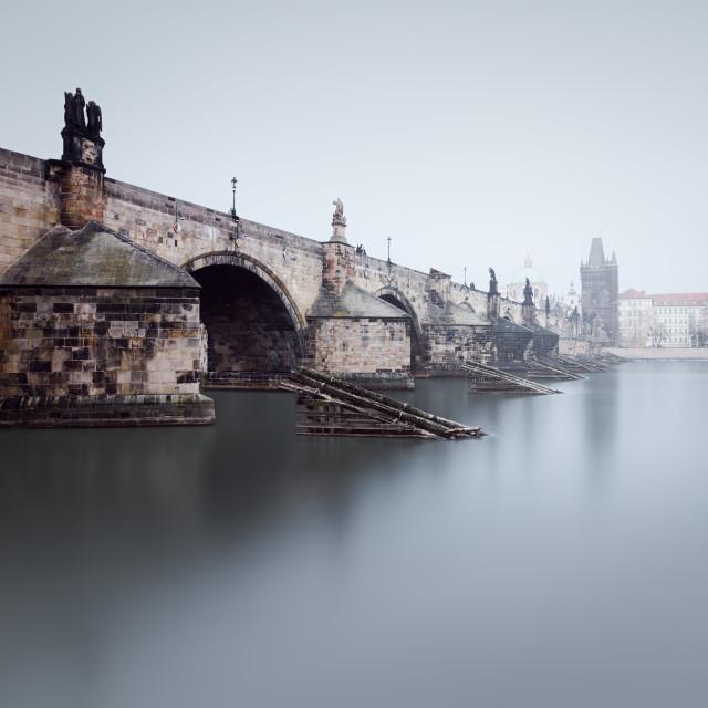 """Charlesbridge in Prague"" stock image"