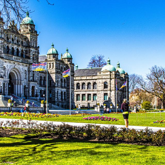 """""""BC Legislature"""" stock image"""