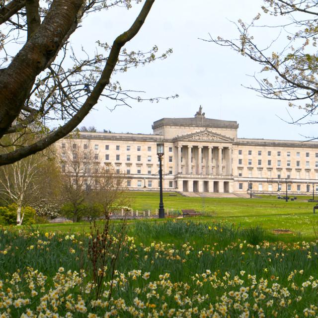 """""""Parliament Building, Stormont"""" stock image"""