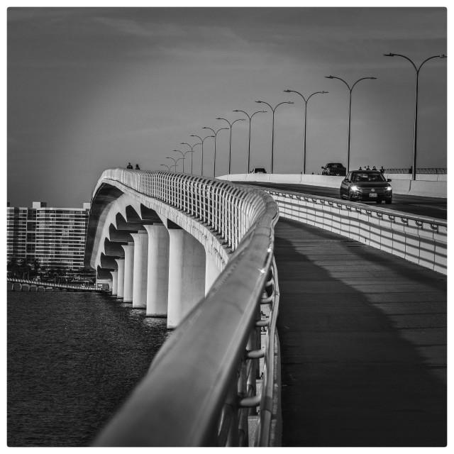 """Bridge to paradise"" stock image"