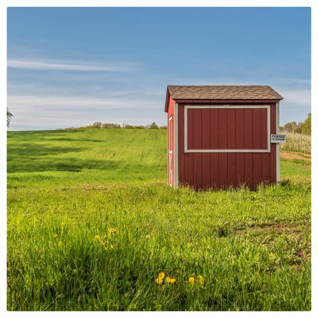 """""""The little shed"""" stock image"""