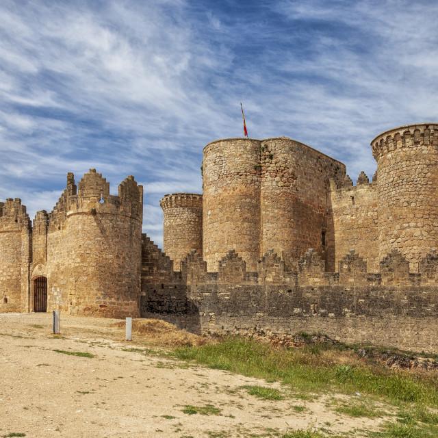 """Belmonte Castle"" stock image"