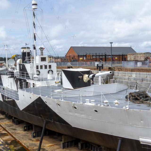"""HMS M.33"" stock image"