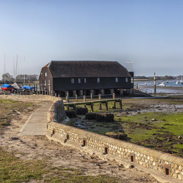 """Bosham Harbour"" stock image"