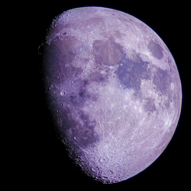 """Moon High Resolution"" stock image"