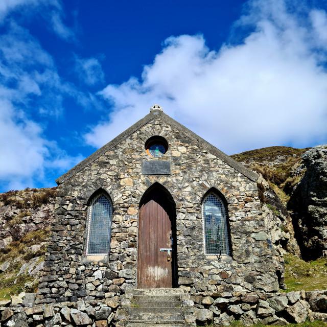 """St Patrick's Chapel"" stock image"