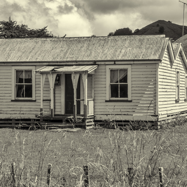 """""""The Homestead"""" stock image"""