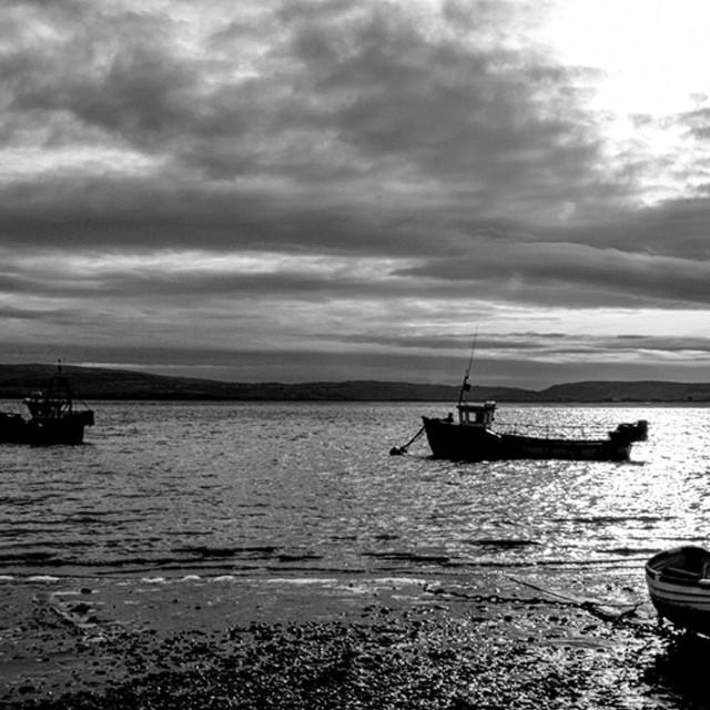 """Aberdovey Harbour"" stock image"
