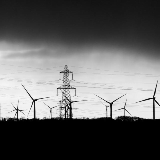 """""""Wind and power"""" stock image"""