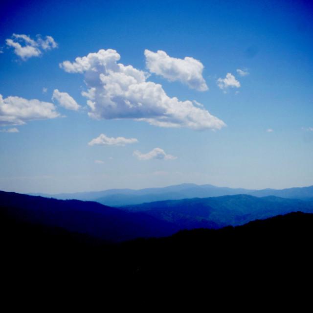 """Blue Horizon"" stock image"