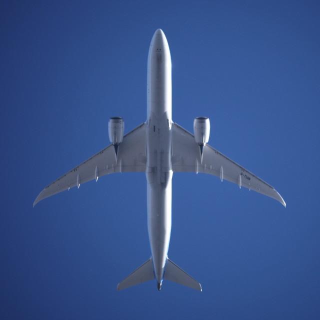 """""""Boeing Dreamliner"""" stock image"""