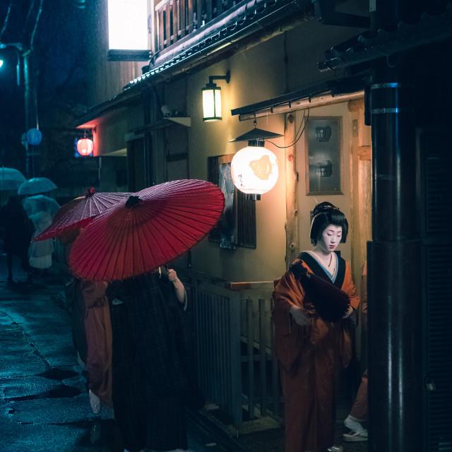 """Geisha's"" stock image"