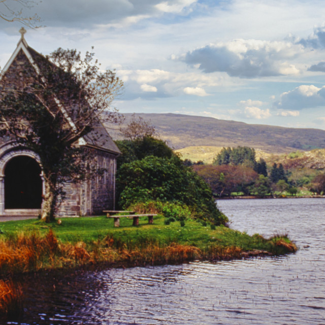 """""""St. Finbar's Shed"""" stock image"""