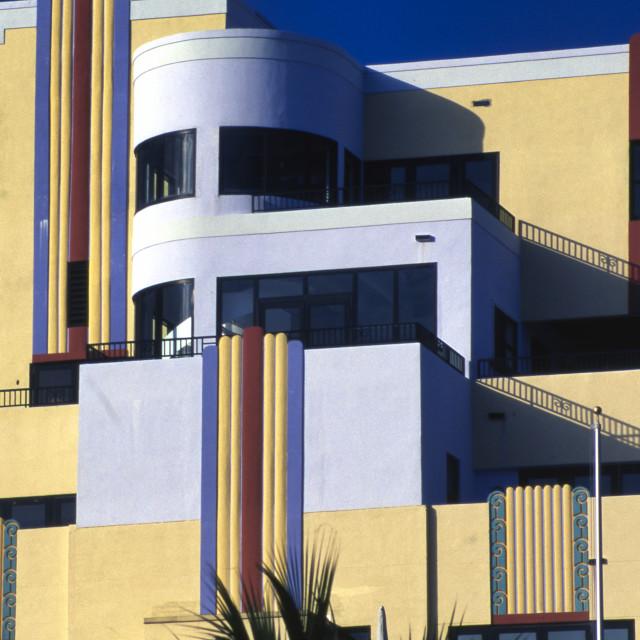 """""""Art Deco in Miami"""" stock image"""
