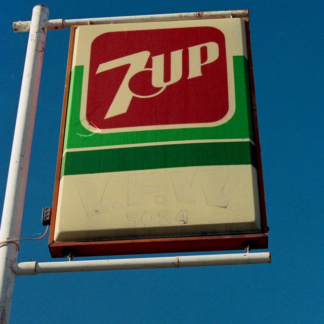 """""""7-Up VFW"""" stock image"""