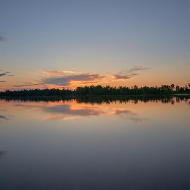 """""""Splendid Sunset"""" stock image"""
