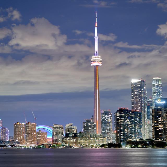 """""""Skyscraper and City"""" stock image"""