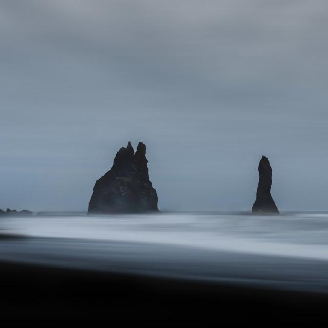 """Reynisdrangar, Iceland"" stock image"