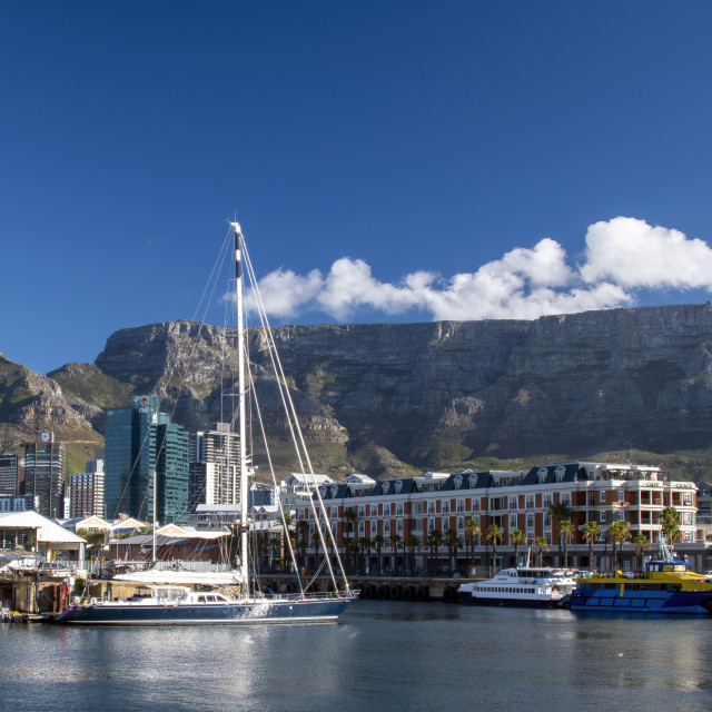 """Cape Town Harbor"" stock image"