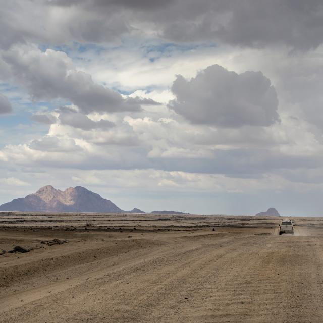 """""""Namibian landscape"""" stock image"""