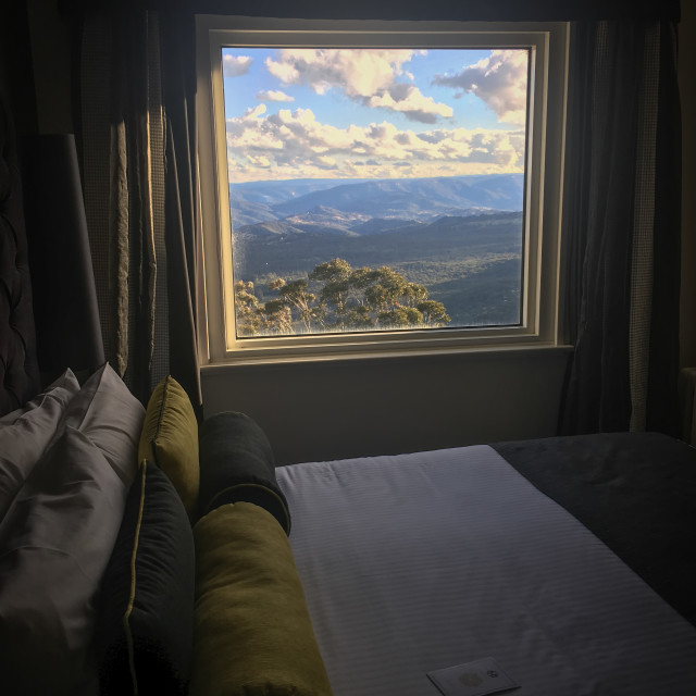 """""""Room with a view"""" stock image"""