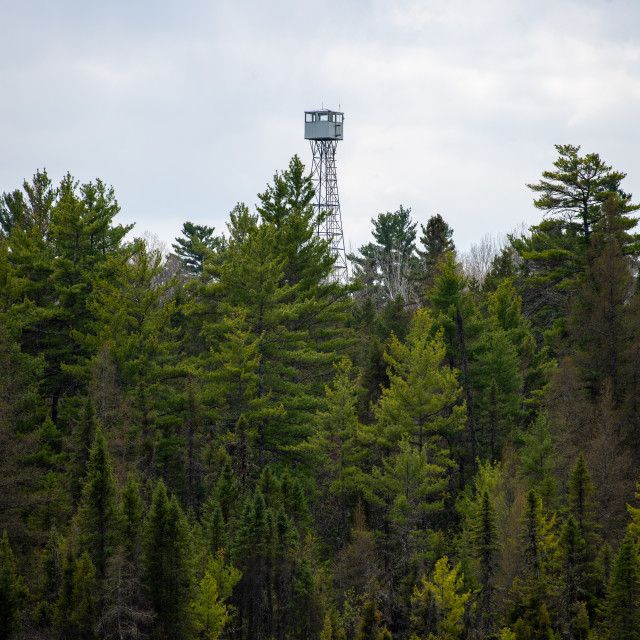 """""""Fire Tower - 1"""" stock image"""