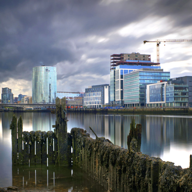 """""""Donegall Quay, Belfast"""" stock image"""