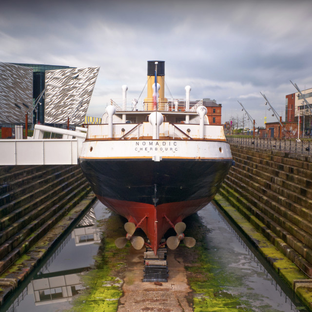 """SS Nomadic, Belfast"" stock image"