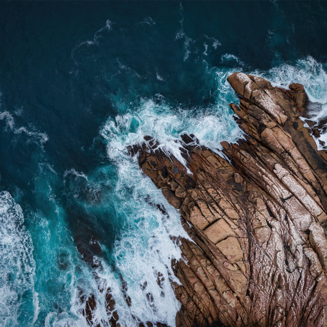 """""""Canal Rocks at Walyup 1"""" stock image"""