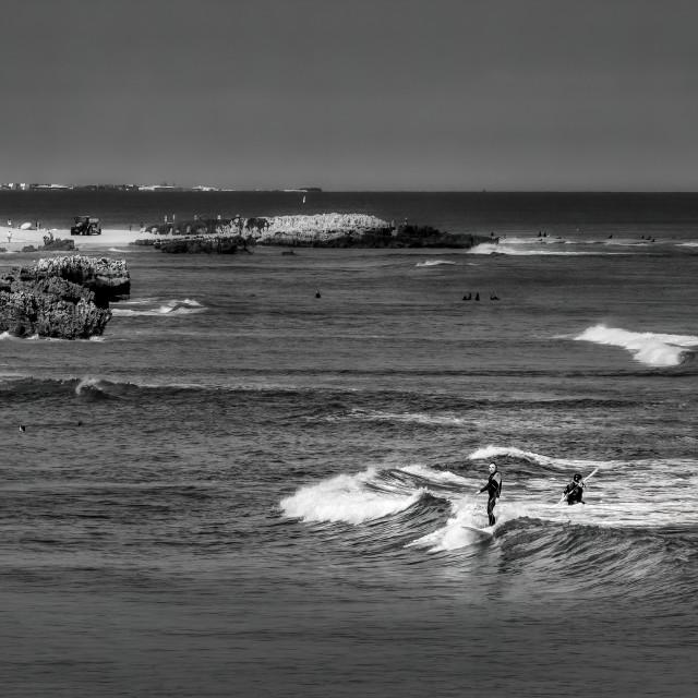"""Trigg Beach Scene 1"" stock image"