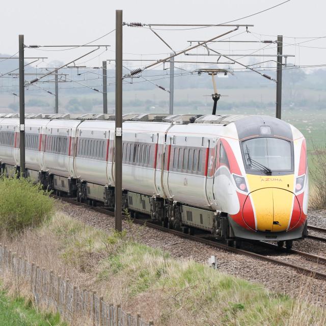 """Azuma Train"" stock image"