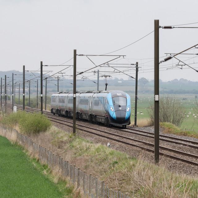 """Passenger tTrai"" stock image"