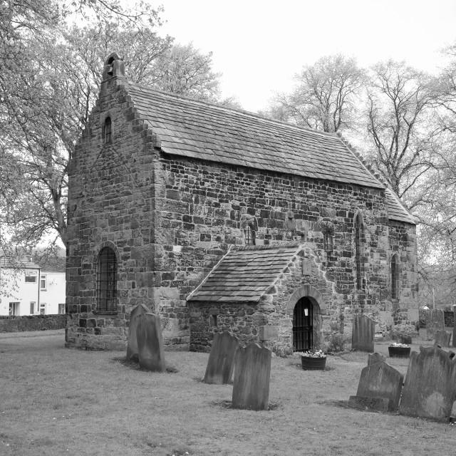 """Saxon Church"" stock image"