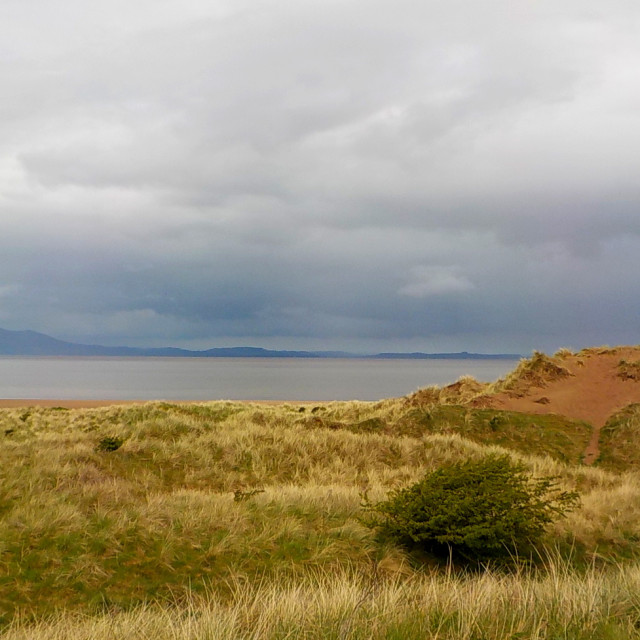 """""""Silloth West Beach"""" stock image"""