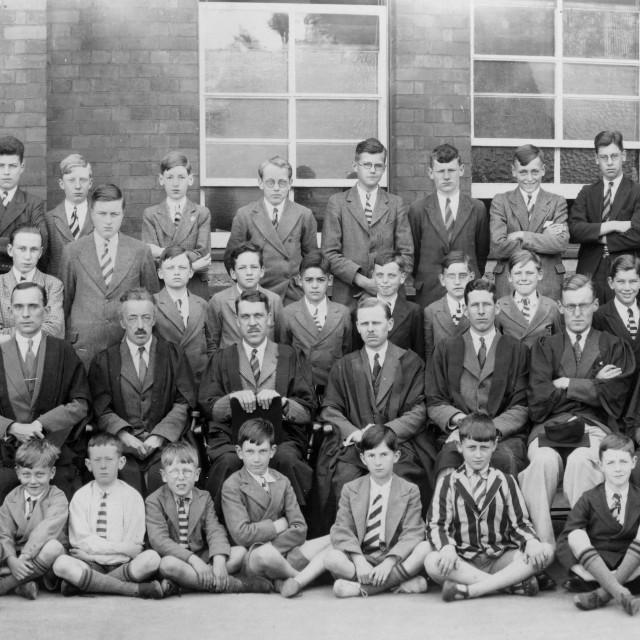 """Kings School (1934)"" stock image"