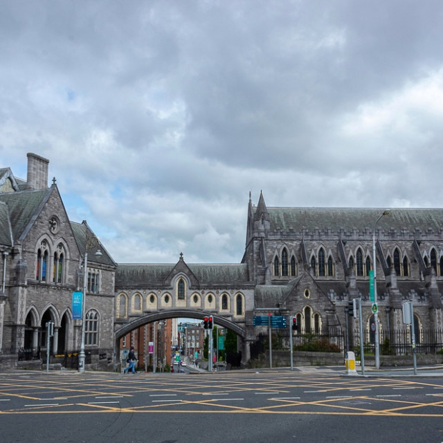 """""""Christchurch Cathedral Dublin"""" stock image"""