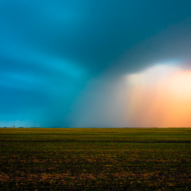 """""""Calm before the storm"""" stock image"""
