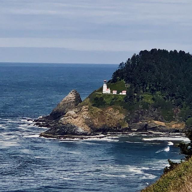 """""""Coastal Lighthouse"""" stock image"""