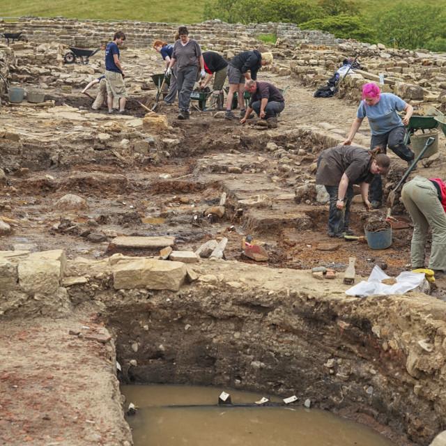 """""""Excavations"""" stock image"""