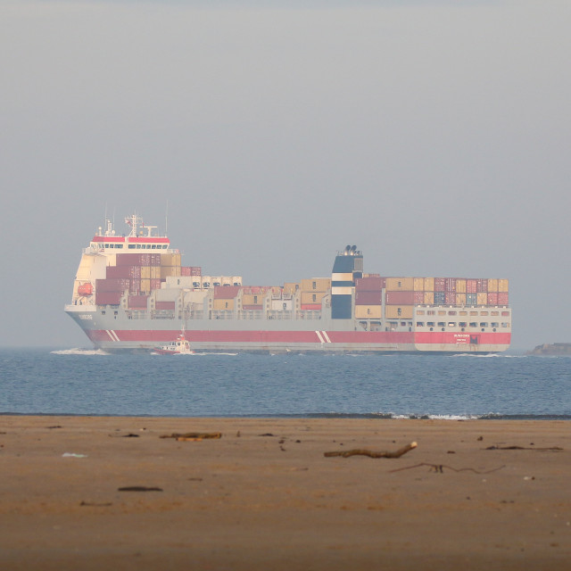"""""""Container Ship"""" stock image"""