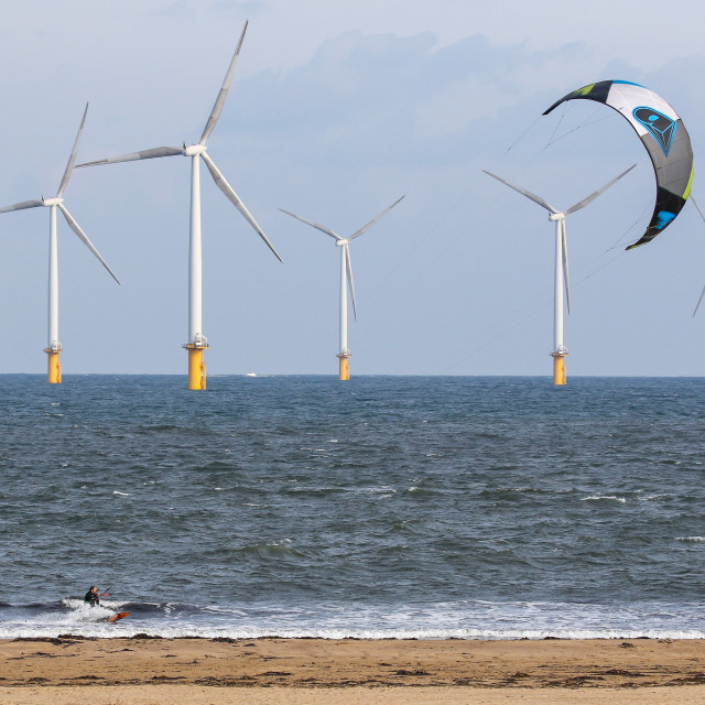 """""""Wind Surfing"""" stock image"""