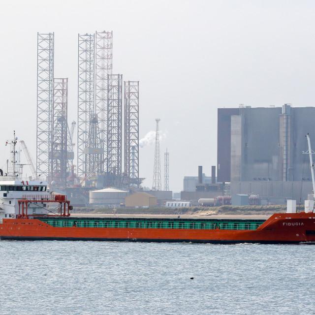 """""""Cargo Ship"""" stock image"""